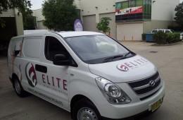 Elite Logistics digital images half wrap