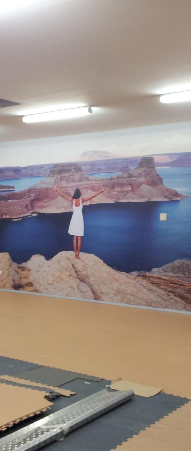 Envie, 11 metres of internal digital print!