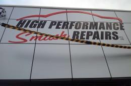 High Perfomance 3D acrylic logo