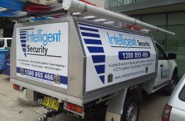 Intelligent Security Ute Back and Rear