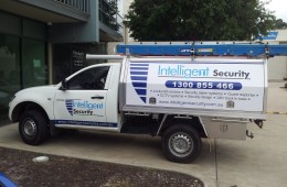 Intelligent Security Ute Sides and Tray