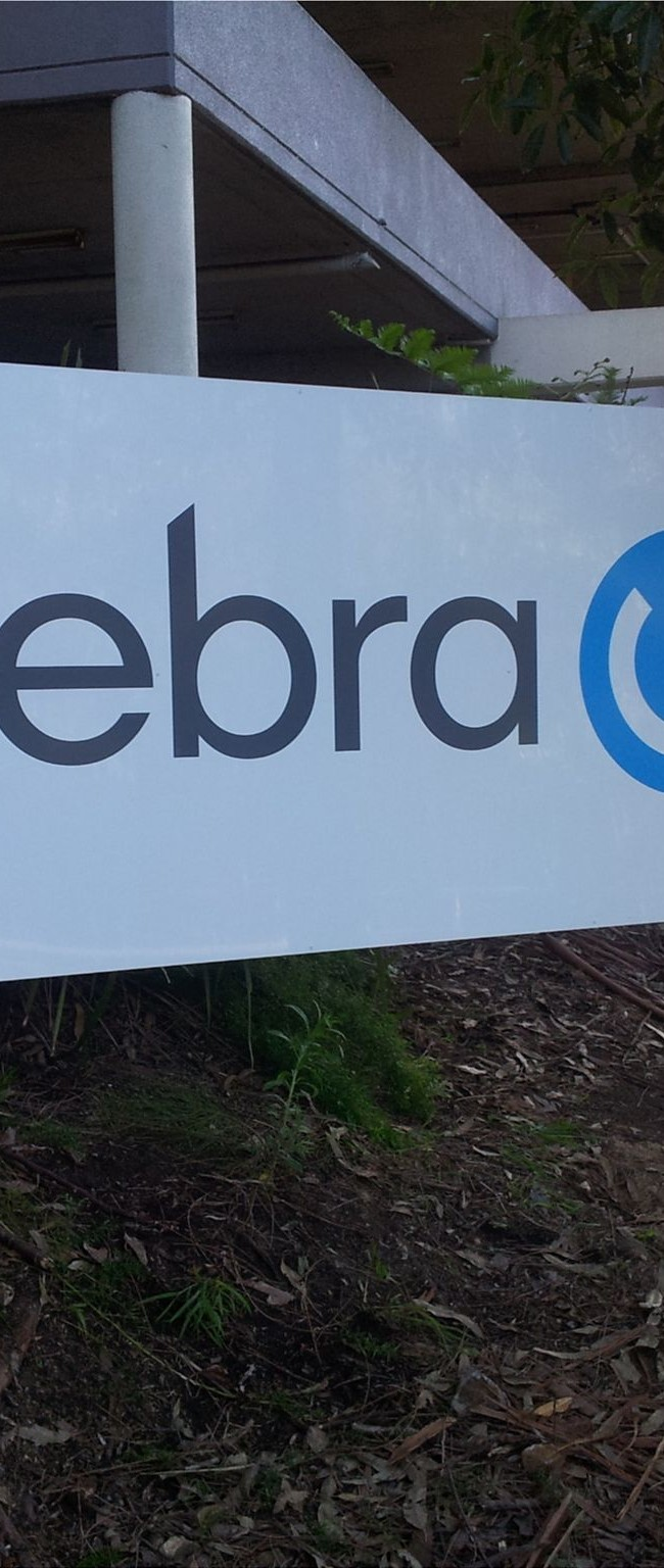 Phebra freestanding sign
