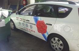 SKG Hatchback Signage