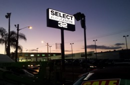 Select Auto Illuminated Light Box
