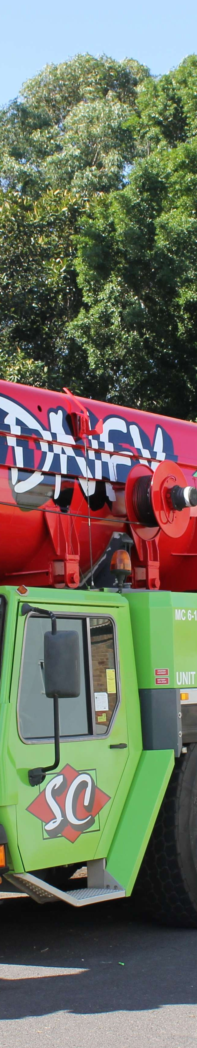 Sydney Cranes 'The Hulk'