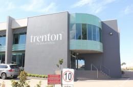 Trenton Routered Lettering