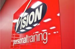 Vision 3D laser cut logo